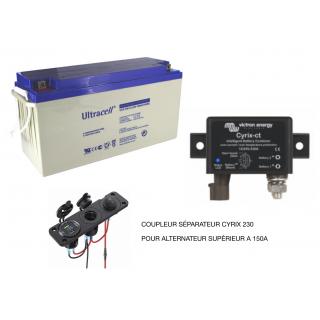 Parc 6 Batteries 2v OPzV GEL